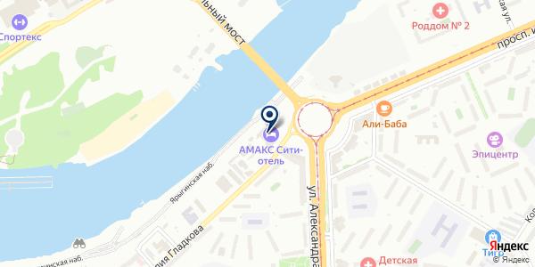 ОХРАННОЕ ПРЕДПРИЯТИЕ ВЕСТА на карте Красноярске