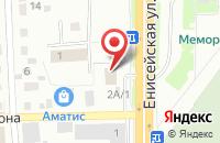 Схема проезда до компании Перекрёсток в Красноярске