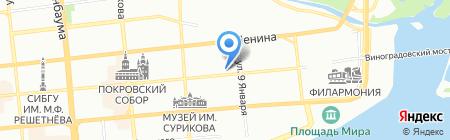 РубиДом на карте Красноярска