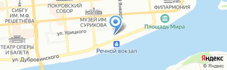 Rezerv Plus на карте Красноярска
