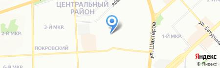 SIB-LED на карте Красноярска