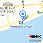 Riverbar BALKON на карте Красноярска