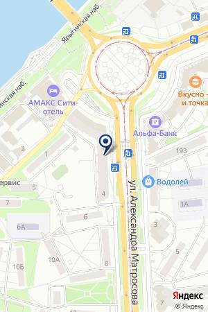 МАГАЗИН РОССИТА на карте Красноярска