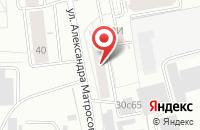 Схема проезда до компании Инжуль в Красноярске