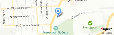 Элемент на карте Красноярска