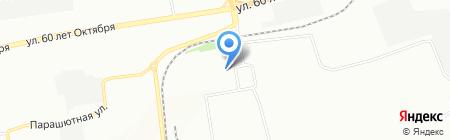 Флаги.Сервис на карте Красноярска