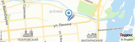 Жемчужина-Травел на карте Красноярска