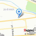Спорт-цех на карте Красноярска