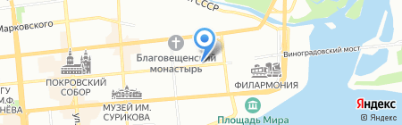InterStyle на карте Красноярска