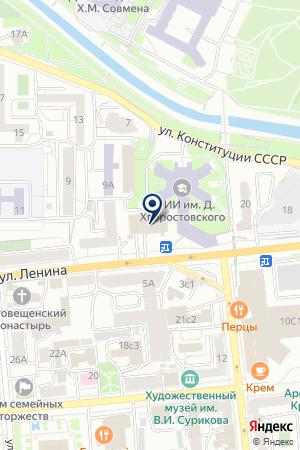 САЛОН МЕБЕЛИ ЛЮКС на карте Красноярска
