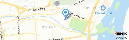 Научное общество учащихся на карте Красноярска