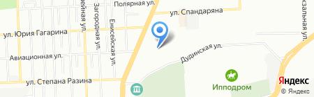 LED Электрика на карте Красноярска