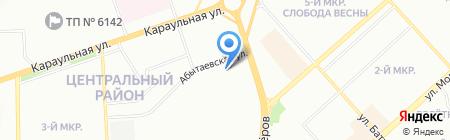 Сибнефто на карте Красноярска