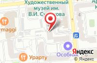 Схема проезда до компании Медиа-Проф в Красноярске