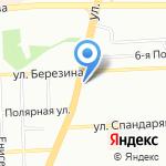 Удачный на карте Красноярска