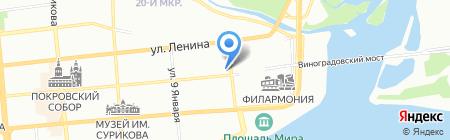 Маэстро на карте Красноярска