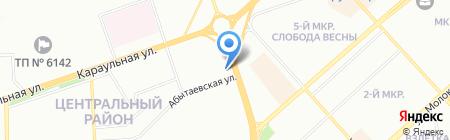 ДМК на карте Красноярска