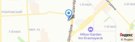 Дары Эвенкии на карте Красноярска