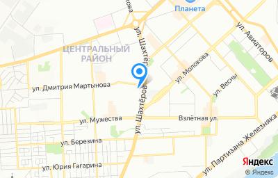 Местоположение на карте пункта техосмотра по адресу г Красноярск, ул Шахтеров, д 39
