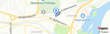 Уралтрубосталь на карте Красноярска