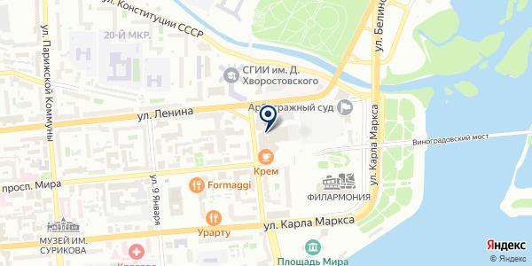 СИСТЕМЫ ТЕЛЕКОММУНИКАЦИЙ И БЕЗОПАСНОСТИ на карте Красноярске