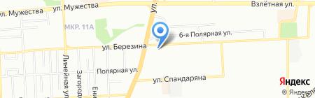 Двери Торэкс на карте Красноярска