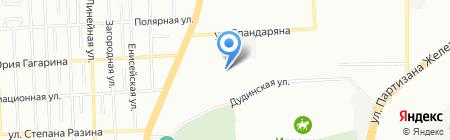 КОЛДИЭН на карте Красноярска