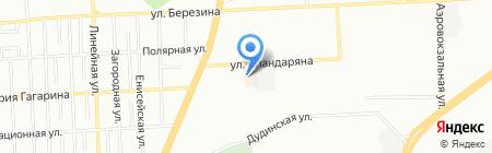 Сударушка на карте Красноярска