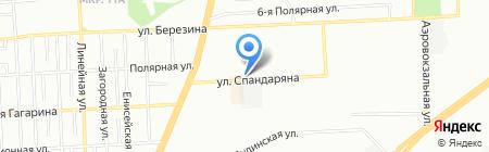 Арт-Текстиль на карте Красноярска