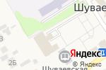 Схема проезда до компании Библиотека в Шуваево