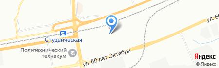 КрасХаус на карте Красноярска