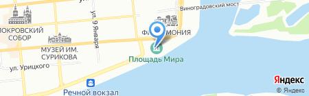 Воскресная школа Сила Духа на карте Красноярска