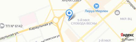 ПрофиМЕД на карте Красноярска