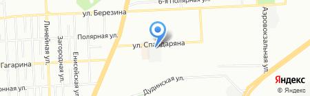 Я плюс Я на карте Красноярска