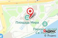 Схема проезда до компании Креативный Город в Красноярске