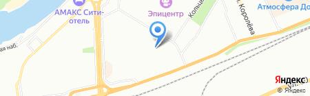 Компас-С Красноярск на карте Красноярска