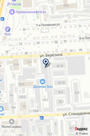 СТРОИТЕЛЬНАЯ КОМПАНИЯ АС-МАСТЕР на карте Красноярска