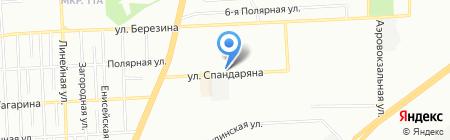 Доктор Пилюлькин на карте Красноярска