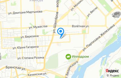 Местоположение на карте пункта техосмотра по адресу г Красноярск, ул Спандаряна, д 10