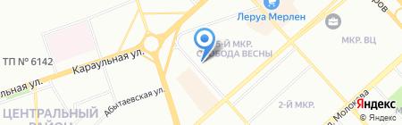 Ma Belle на карте Красноярска