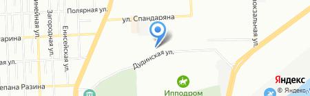 Наш двор на карте Красноярска