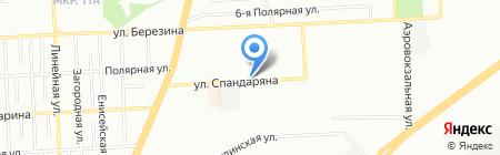 Крупная рыба на карте Красноярска