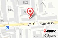 Схема проезда до компании  Красноярский Орех  в Красноярске