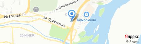 Гарант-Сервис-Красноярск на карте Красноярска