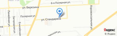 Ташкент на карте Красноярска