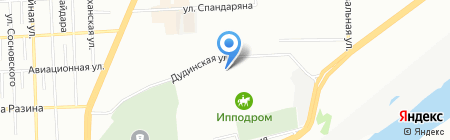 Эол на карте Красноярска