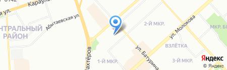 Четыре сезона на карте Красноярска