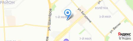 DTS на карте Красноярска