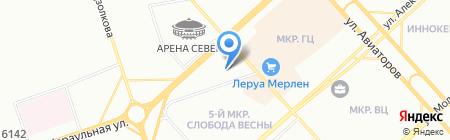 Домус на карте Красноярска