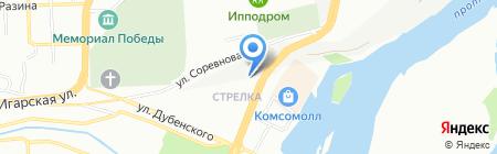 Best Travel на карте Красноярска